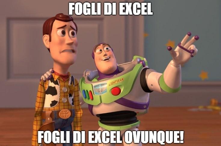 Fatturazione elettronica Fogli di Excel Slope