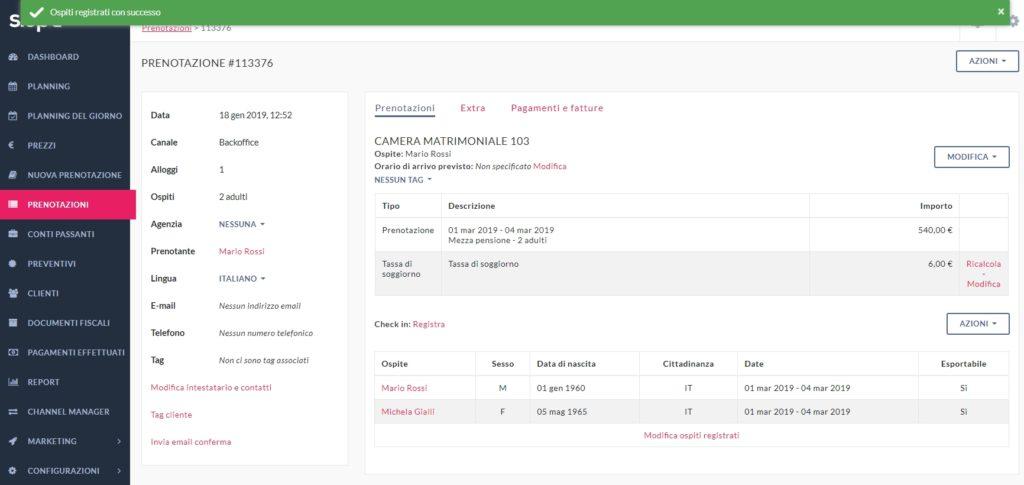 segnalazione portale alloggiati schedine alloggiati polizia di stato software Slope 2