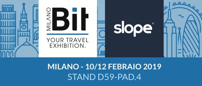 Slope Hotel Bit Milano Fiera 2019