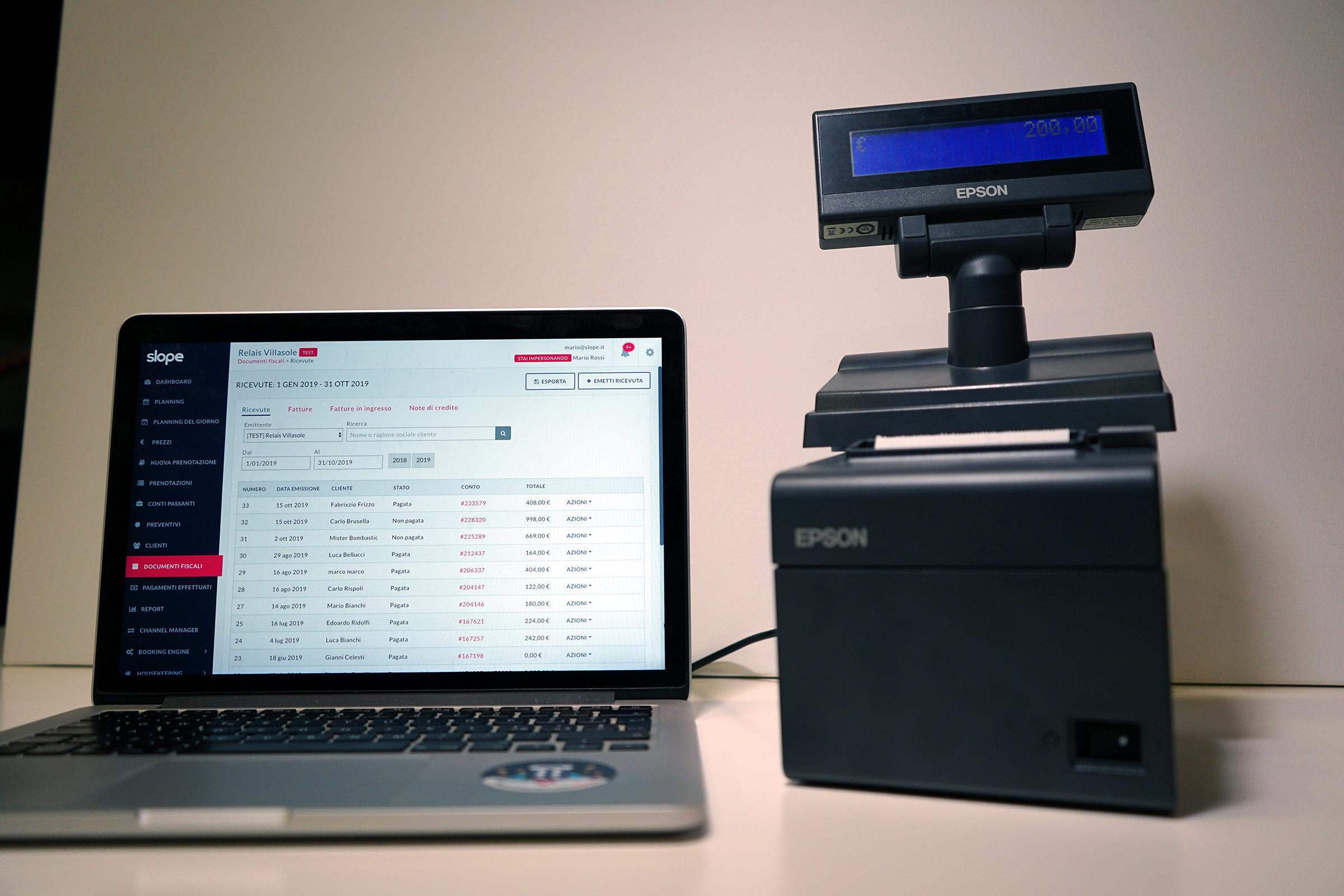 Scontrino elettronico hotel come funziona e come gestirlo in hotel con registratore telematico