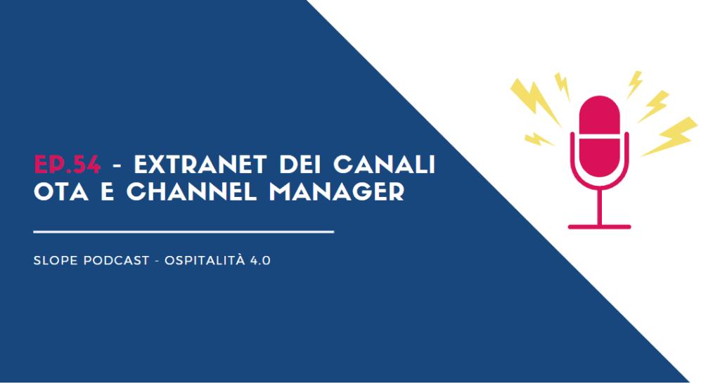 extranet dei canali OTA e Channel Manager