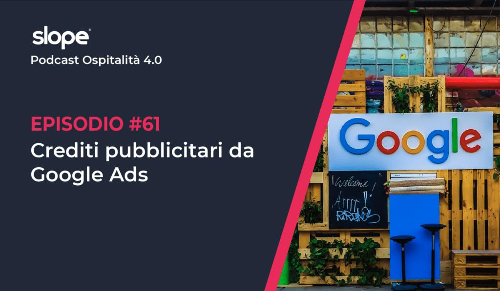 Crediti pubblicitari da Google