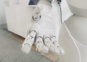 robot receptionist