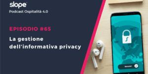 La gestione dell'informativa privacy in hotel