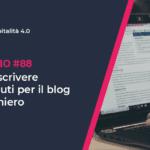 Come scrivere contenuti per il blog alberghiero