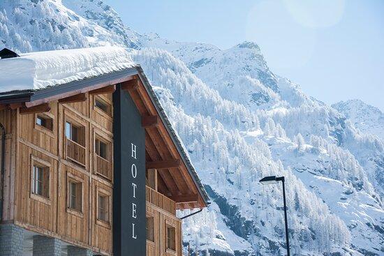 Immagine esterna dell'Hotel Dufour che utilizza il gestionale Slope