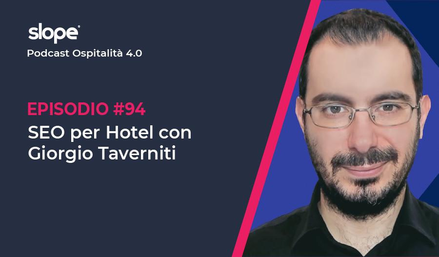 SEO Hotel con Giorgio Taverniti